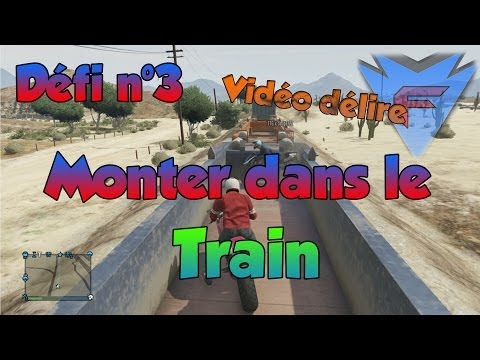 comment monter dans le train gta 5