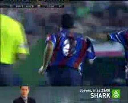Gol de Viqueira al Barcelona