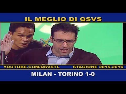 qsvs - i gol di milan - torino 1 a 0