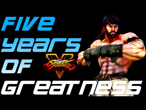 Street fighter 5 : Yoshinori Ono has 5 years of content/support  planned