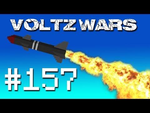 Minecraft Voltz Wars - Launching the Fleet! #157