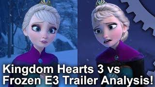Video [4K] Kingdom Hearts 3 vs Frozen! Graphics Comparison + E3 2018 Trailer Analysis MP3, 3GP, MP4, WEBM, AVI, FLV Juni 2018