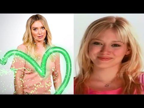 Hilary Duff Recreates Her AWKWARD Disney Channel Wand Promo