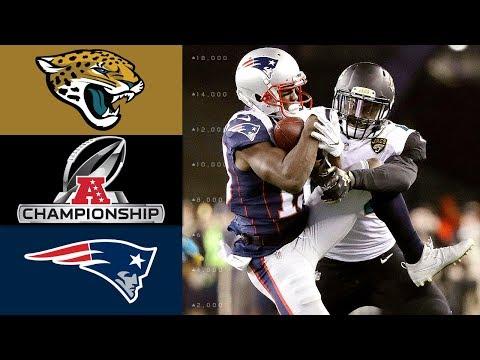 Video: Jaguars vs. Patriots | NFL AFC Championship Game Highlights