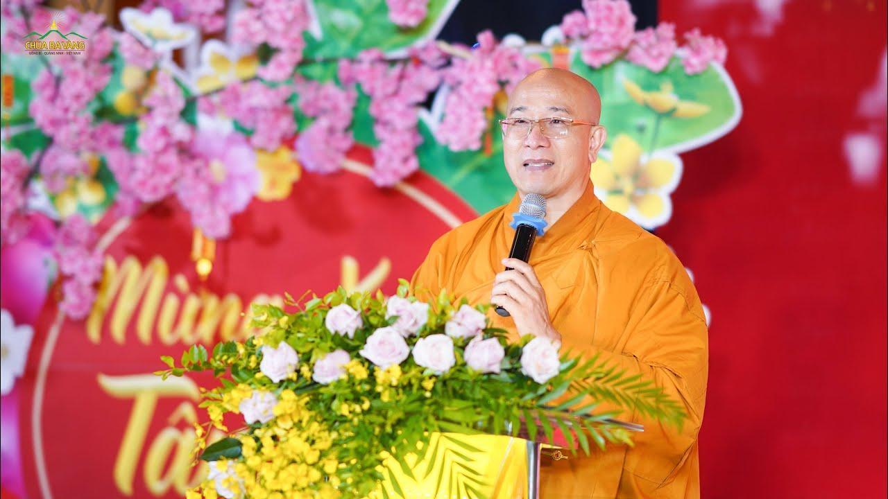 Lời chúc Tết của Thầy Thích Trúc Thái Minh nhân dịp xuân Tân sửu 2021