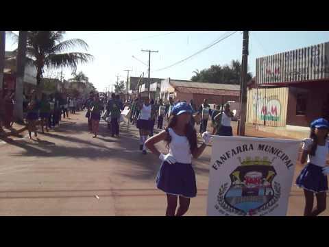 Fanfarra Municipal de São José do Xingu-MT 2011--- Nelsina Luz