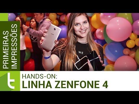 Linha Asus Zenfone 4: hands-on e primeiras impressões  TudoCelular.com