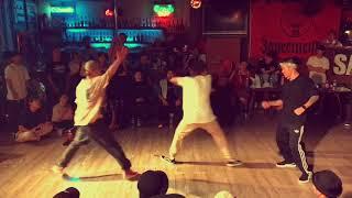 小柳津 vs Atsuya & Miao – DROPOUT-Round4- FINAL