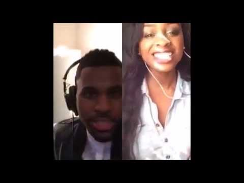"""Want To Want Me"" Duet With Jason Derulo Via Smule."