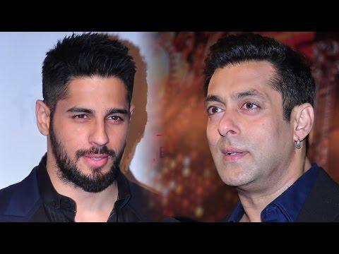 Sidharth Malhotra Wishes Salman Khan On His 49th B