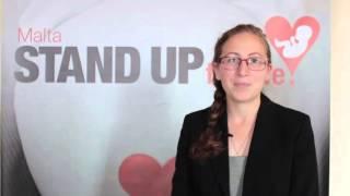 Malta…Stand Up for Life! - Sara Portelli, Life Network