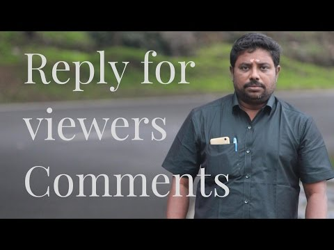 Reply for Comments 15