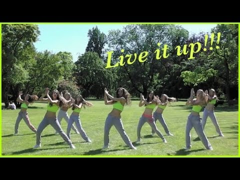 Jennifer Lopez – Live It Up ft. Pitbull  – Zumba
