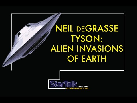Neil deGrasse Tyson and Eugene Mirman discuss Alien Invasions of Earth