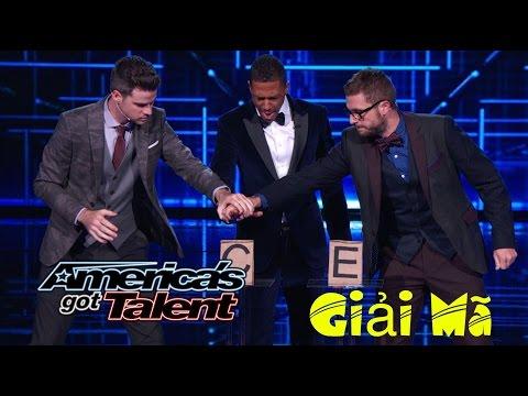 Giải mã ảo thuật đập đinh nguy hiểm của David và Leeman tại America's Got Talent