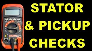 7. Ignition Pickup And Stator Checks For AC Scooters, ATVs, & More