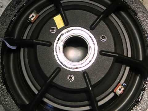 Dynaudio 30W54 30W100 Filterschaum Sicken Reparatur Spider Schwingspule
