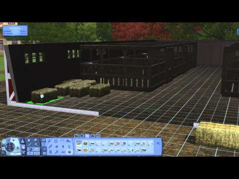 Video 9 de Los Sims 3:  Como crear un rancho