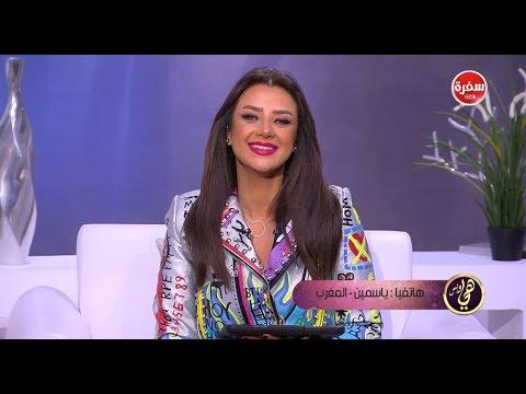 العرب اليوم - متصلة من المغرب تتسبب في بكاء رضوى الشربيني