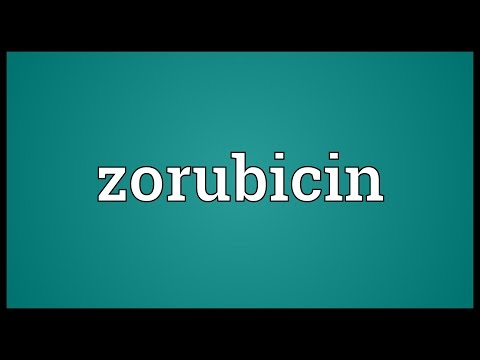 Zorubicin Meaning