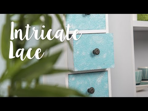 DIY: Intricate Lace Drawers - Sizzix