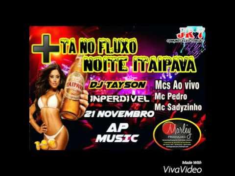 Show confirmado em MC PEDRO E MC SADYZINHO.
