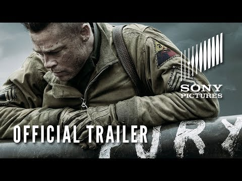 FURY – Official Trailer – In Theaters NOW!