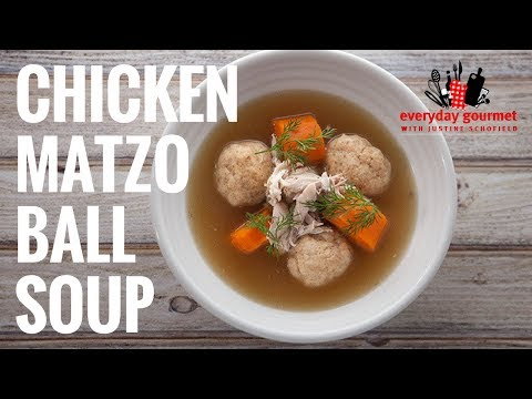 Tefal Chicken Matzo Ball Soup | Everyday Gourmet S6 E61