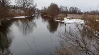 Весенняя рыбалка на реке Ушна. Джиг