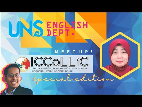 Meet Up With English Department Solo - Season 1 Special Episode 08: ICCoLLiC Conference