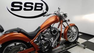 8. 2011 Honda VT13CX Fury– used motorcycles  for sale– Eden Prairie, MN