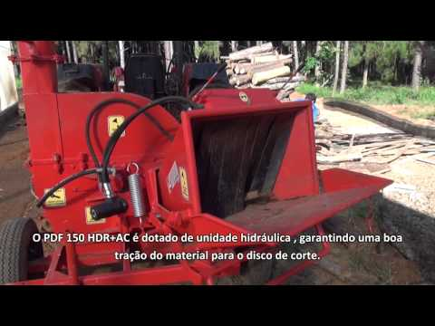Triturador de Galhos PDF 150 HDR + AC Lippel no Resort Rio Quente