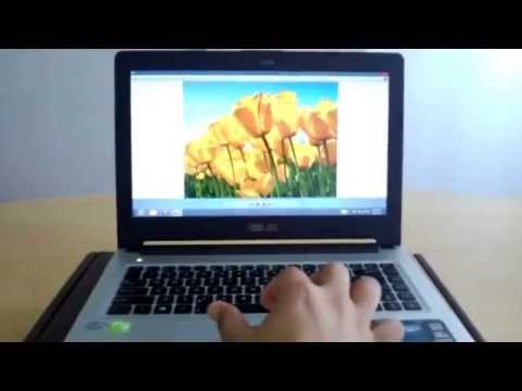 [Demo] Multigesture Touchpad on ASUS S46CB