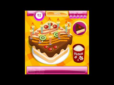 Cooking Game Video-Cake Master