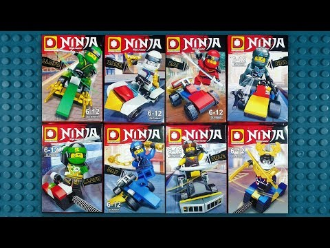 LEGO Ninjago Movie Minifigures (knock-off) Sheng Yuan SY652 | Hot ...