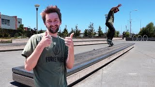 Today we leave Fremont skatepark and the Braille House and we go out and find a spot in San Francisco and skate it just for fun and for you guys! I really hope you enjoy it and click here for more street missions: https://www.youtube.com/watch?v=NM_HKhBKfog&list=PLjpsoptsN4KAiU57NbfQWnfNLpVzKKis3You can skate with us!  Click the link for tickets:https://www.brailleskateboarding.com/shop/http://www.brailleskateboarding.com/how-to-skateboard/YOU CAN LEARN TO SKATEBOARD! CLICK ABOVE TO GET THE MOST DETAILED HOW TO SKATEBOARD LESSON PLAN EVER MADE!  SKATEBOARDING MADE SIMPLE!Big thanks to Gabe Cruz for his help in editing this video: http://www.youtube.com/braillearmyFetty: http://www.youtbe.com/fettypotterKelly: http://www.youtube.com/kellywakasaGET SKATEBOARDING MADE SIMPLE ON iBOOKS! https://itunes.apple.com/us/artist/aaron-kyro/id733499725?mt=11GET SKATEBOARDING MADE SIMPLE ON GOOGLE PLAY https://play.google.com/store/books/details/Aaron_Kyro_Skateboarding_Made_Simple_Vol_1?id=8BEbBQAAQBAJSkateboarding Made Simple on Amazon: https://www.amazon.com/Skateboarding-Made-Simple-Braille-Aaron/dp/B01LYPOIVP/ref=sr_1_1?ie=UTF8&qid=1482278130&sr=8-1&keywords=skateboarding+made+simpleFOLLOW ON SOCIAL MEDIAINSTAGRAM https://instagram.com/brailleskate/FACEBOOK: http://www.facebook.com/BrailleSkateboardingGOOGLE +: https://plus.google.com/107594784940938640430TWITTER: http://twitter.com/#!/BrailleSkateFor general inquiries email contact@brailleskateboarding.comFor business, brand or media inquiries please email jen@brailleskateboarding.comCHECK OUT OUR WEBSITE FOR ALL THE LATEST BRAILLE NEWS AND UPDATES!!! http://www.brailleskateboarding.comTHUMBS UP FOR MORE VIDEOS!PLAYLISTS LINKS FOR MOBILE USERSlearn to skate: http://www.youtube.com/playlist?list=PL34F060CE1BA3E968SKATE SUPPORThttp://www.youtube.com/playlist?list=PL2E1C0A94C6B6CEBB&feature=view_allCLIPPEDhttp://www.youtube.com/playlist?list=PLjpsoptsN4KCS-4mngnS8xM4ZXwpn60NQ&feature=view_allslow motionhttp://www.youtube.com/p