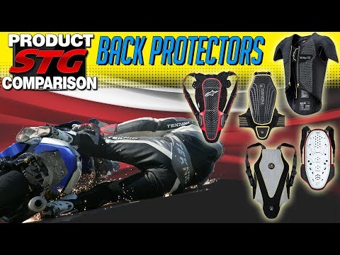 The Best Motorcycle Back Protectors | Sportbiketrackgear.com