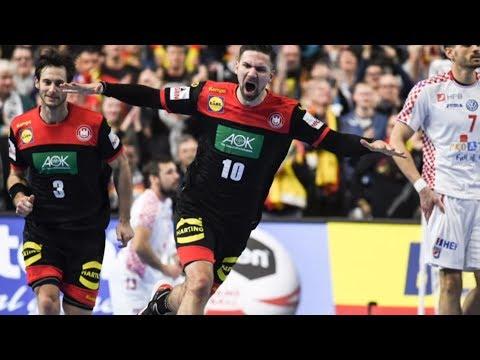 Die deutschen Handballer erreichen das WM-Halbfinale