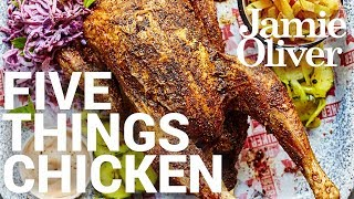 5 Things to do with… Chicken | Food Tube Classic Recipes by Jamie Oliver