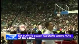 Record crowd of 52,000 fans attend PBA opening at the Philippine Arena
