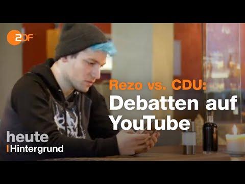 Rezo vs. Regierung - YouTube wartet auf Antworten - heute-journal vom 22.05.19   ZDF