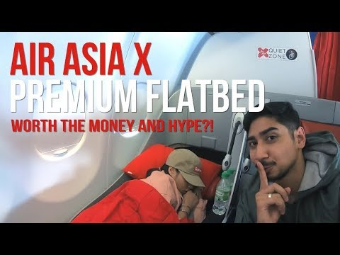 Air Asia X AMAZING PREMIUM FLAT BED review (Worth all the Hype?!) X ZALORA Gift Bomb!! – Travelog