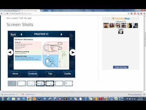 Video of Hockey Drills Lite