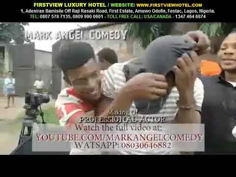 The Making Of PROFESSIONAL ACTOR Mark Angel Comedy