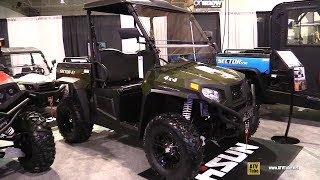 10. 2019 HiSun Sector 1 Electric Utility ATV - Walkaround - 2018 Toronto ATV Show