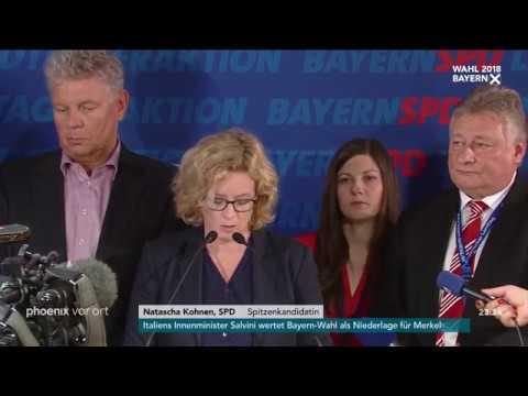 Landtagswahl in Bayern: Natascha Kohnen am 14.10.2018
