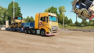 Next job with the Volvo FH16 750. It ain't that heavy as the last one.07:49 oh shit! sorry! :19:49 Thank you! :P21:00 oops28:00 ooh, GPS!                                                            ModsTruck:Volvo FH&FH16 2012 Reworked by Eugene https://forum.scssoft.com/viewtopic.php?f=35&t=185292Sound:VOLVO FH16-13 2K9-2K12 stock sound reworked 2.0 for Eugene's FH 2012 http://forum.scssoft.com/viewtopic.php?f=211&t=1591925Skin:V.D. VList Paintjob by Hounddog https://forum.scssoft.com/viewtopic.php?f=37&t=186102Wheels:Truck Rims an Tyres by 50keda http://forum.scssoft.com/viewtopic.php?f=34&t=183178Trailer:Trailer by SCS Software http://store.steampowered.com/app/531131/Euro_Truck_Simulator_2__Heavy_Cargo_Pack/Maps:ProMods MAP get it only there: http://promods.net/Italy Map 2.0  https://forum.scssoft.com/viewtopic.php?f=32&t=220796Fix ProMods 2.17 + Italy 2.0 https://ets2.lt/en/fix-promods-2-17-italy-2-0/RusMap v1.7.3 http://forum.scssoft.com/viewtopic.php?f=32&t=186595Map Addons:No Dead Ends http://sharemods.com/bbrk1uyvnw7w/No_Dead_End_1.20_by_Jurriuuh.scs.htmSewer Mod http://forum.scssoft.com/viewtopic.php?f=34&t=128189City Lighting by SiSL https://steamcommunity.com/sharedfiles/filedetails/?id=812055139Graphics:New Summer Environment v2.4 by Grimes https://forum.scssoft.com/viewtopic.php?f=34&t=208532No Bloom for Grimes Summer 2.4 by doexpectnothing http://sharemods.com/e905kkknn4h0/NoBloomInSummer.scs.htmlSweetFX v2.0 (Mod 11 Final)  https://ets2.lt/en/sweetfx-v2-0-mod-11-final/AI Traffic:AI Traffic by Jazzycat http://jazzycat.ucoz.net/ETS2 TZ tuning ai cars http://tzexpress.cz/DP's Realistic Traffic v 0.1.13 https://ets2.lt/en/dps-realistic-traffic-v-0-1-13/Miscellaneous:SiSL's Mega Pack https://forum.scssoft.com/viewtopic.php?f=175&t=194010Sound Fixes Pack by Drive Safely  http://forum.scssoft.com/viewtopic.php?f=212&t=200919Realistic Mirror FOV by  Kenesoljas [KZ] http://steamcommunity.com/sharedfiles/filedetails/?id=898909733Small mirror mod http://steamcommunity.com/sharedfiles/filedetails/?id=698352359?ETS2 - Realistic Headlight Range v0.7 by Kenesoljas https://steamcommunity.com/sharedfiles/filedetails/?id=897109701SIGNS ON YOUR TRUCK by tobrago https://steamcommunity.com/sharedfiles/filedetails/?id=688277995Recording Device:AVermedia Live Gamer Portable 2 --- http://amzn.to/2tGYoSa PC Specs:Intel Core i5-4690, 4x 3.50GHz (max. 4x 3,9GHz)  ---  http://amzn.to/2tdxvVBArctic Freezer i32 CPU Cooler ---  http://amzn.to/2ulZ5y816GB DDR3 MemoryKingston SSDNow UV400 480GB --- http://amzn.to/2tITrs5INTEL Pro 5400s SSD Series 240GB --- http://amzn.to/2tFA6IMInno3D iChill GeForce GTX 1080 3Fans, 8GB Gigabyte GA-H97-D3Hbe quiet! Power Zone 750W ---  http://amzn.to/2tISVdCLogitech G25Xbox 360 Controllerbeyerdynamic DT770 Headphones 250 Ohm ---  http://amzn.to/2tdpyzn