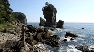 【HD】岩手県 三王岩と周辺海岸 – がんばれ東北!