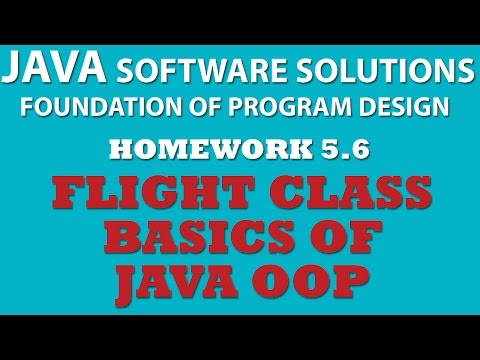 Java (Ex 5.6): Creating Flight Class (Java OOP)