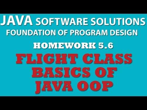 Java (Ex 5.6): Creating Flight Class (Java OOP)